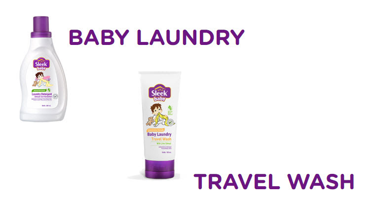Sabun Cuci Pakaian Bayi Sleek Baby