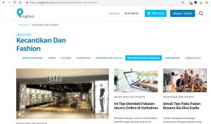 Rubrik Kecantikan dan Fashion di PingPoint.co.id