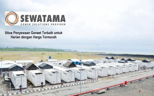 Sewatama.com, Situs Penyewaan Genset Terbaik untuk Harian dengan Harga Termurah
